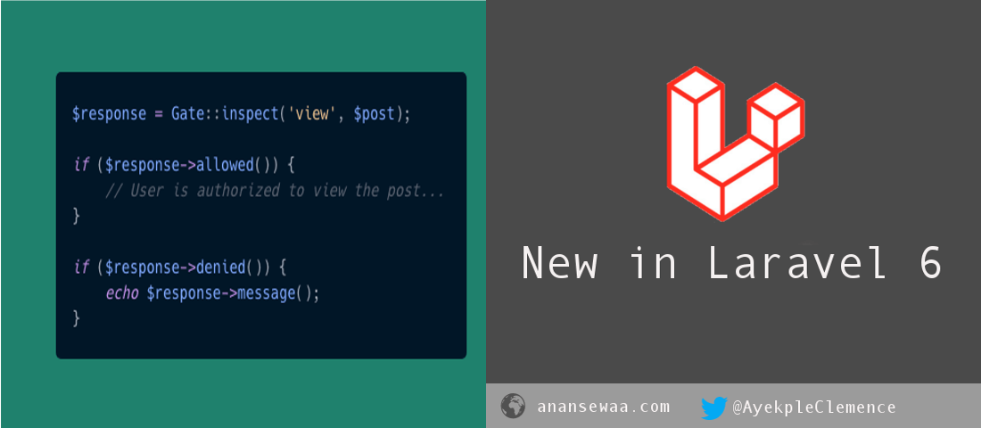 New in Laravel 6